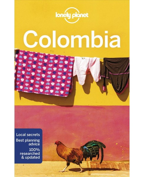 Lonely Planet Colombia -  by Kevin Raub & Jade Bremner & Alex Egerton & Tom Masters (Paperback) - image 1 of 1