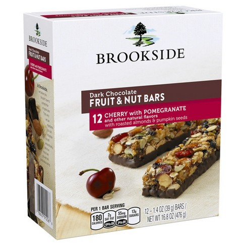 Brookside Cherry & Pomegranate Dark Chocolate Fruit & Nut Bars - 16.8oz - image 1 of 3