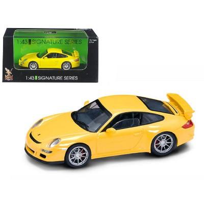 Porsche 911 997 GT3 Yellow Signature Series 1/43 Diecast Model Car by Road Signature