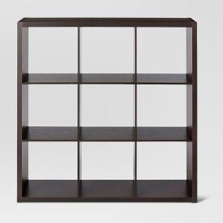 "9-Cube Organizer Shelf Espresso Brown 13"" - Threshold™"