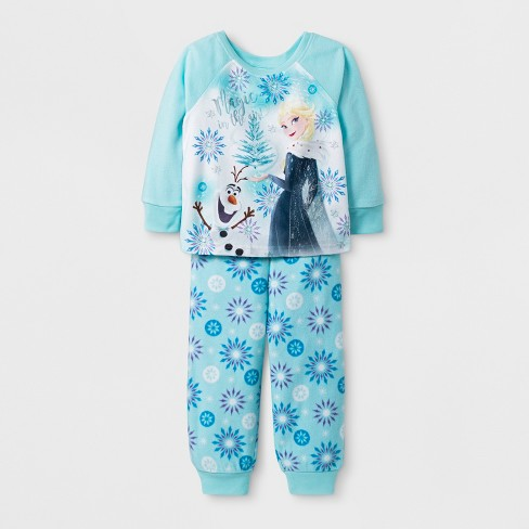 d94b6c5793 Toddler Girls  Frozen 2pc Pajama Set - Blue 3T   Target