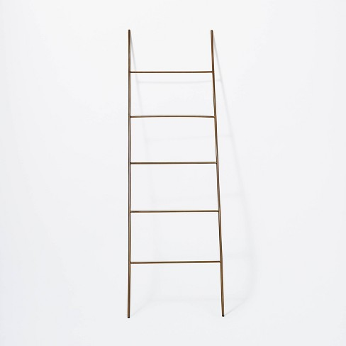 """66"""" Decorative Metal Ladder Gold - Threshold™ designed with Studio McGee - image 1 of 3"""