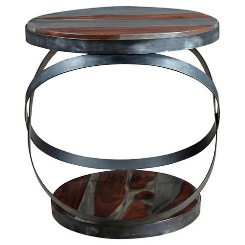 Kari Accent Table - Brown - Treasure Trove - image 1 of 2