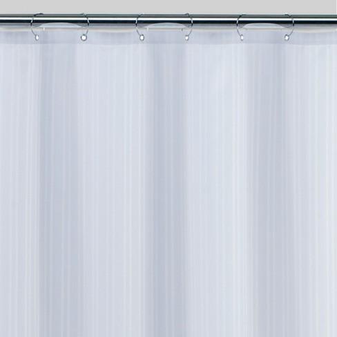 Damask Fabric Shower Liner