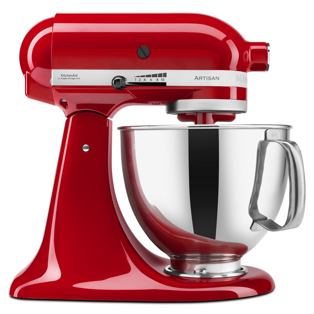 KitchenAid Refurbished Artisan Series 5qt Stand Mixer – Empire Red RRK150ER 53499029