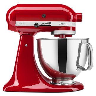 KitchenAid Refurbished Artisan Series 5qt Stand Mixer - Empire Red RRK150ER