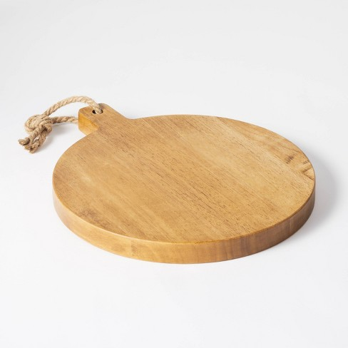 """13"""" x 11"""" Rubberwood Serving Board  - Threshold™ designed with Studio McGee - image 1 of 4"""