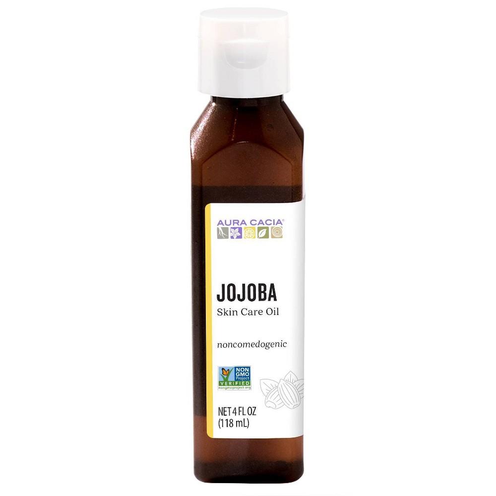 Image of Aura Cacia Jojoba Skin Care Oil - 4 fl oz