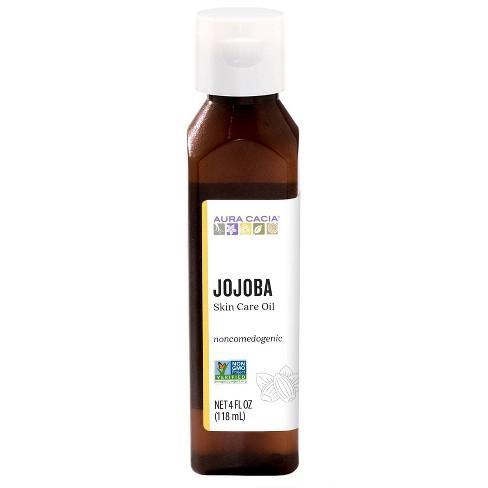 Aura Cacia Jojoba Skin Care Oil - 4 Fl Oz : Target