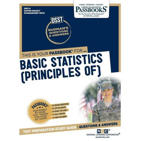Basic Statistics (Principles of) - by  National Learning Corporation (Paperback) - image 1 of 1