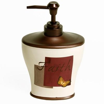 Grace Stoneware Lotion Dispenser Neutral - Saturday Knight Ltd.®