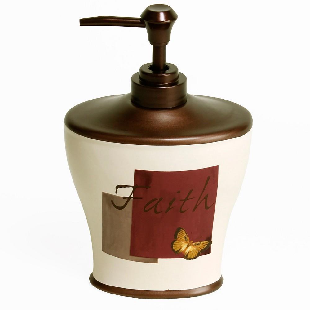 Grace Stoneware Lotion Dispenser Neutral - Saturday Knight Ltd.