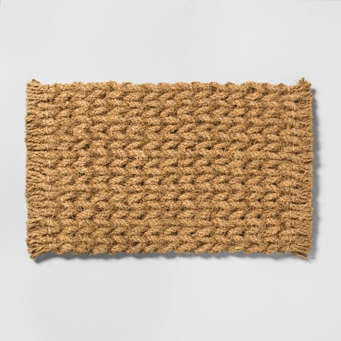 "18"" x 30"" Door Mat Braided Coir - Hearth & Hand™ with Magnolia - image 1 of 2"