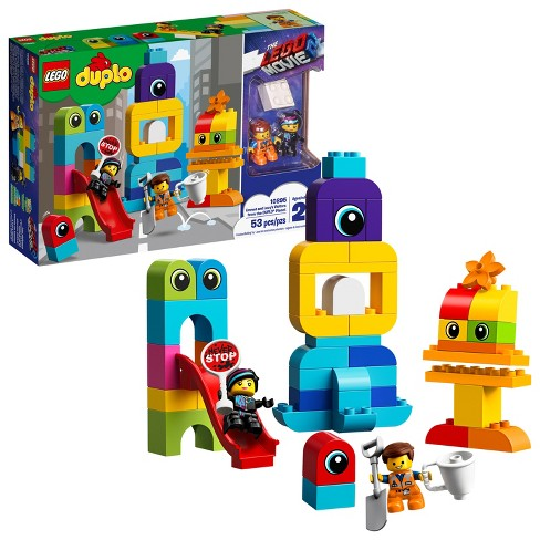 THE LEGO MOVIE 2 Emmet and Lucy's Visitors from the DUPLO 10895 - image 1 of 4
