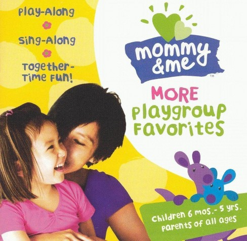 Various - Mommy & me:More playgroup favorites (CD) - image 1 of 1