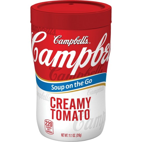 Campbell's® Soup on the Go Creamy Tomato Microwaveable Cup 10.75 oz - image 1 of 5