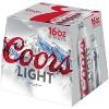 Coors Light Beer - 9pk/16 fl oz Aluminum Bottles - image 3 of 3