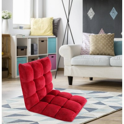 Kids' Esme Recliner Chair Red - Chic Home