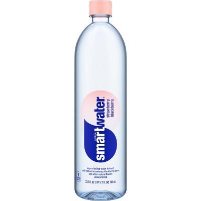 Smartwater Strawberry Blackberry Water - 23.7 fl oz Water