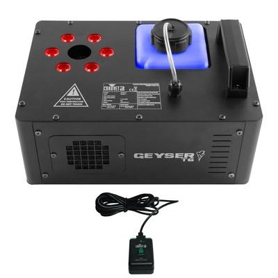 Chauvet DJ Geyser T6 Smoke Pyrotechnic Fog Machine & LED Light Effect w/ Remote
