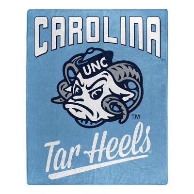 NCAA North Carolina Tar Heels Throw Blankets