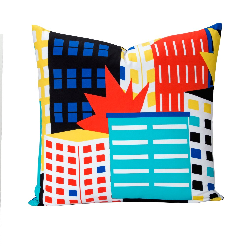 "Image of ""Be Super 26"""" Throw Pillow - Learning Linens"""