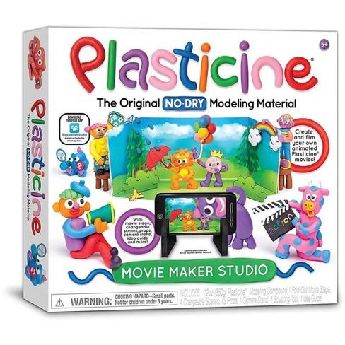 Plasticine No-Dry Modeling Clay Movie Maker Studio Kit - image 1 of 3