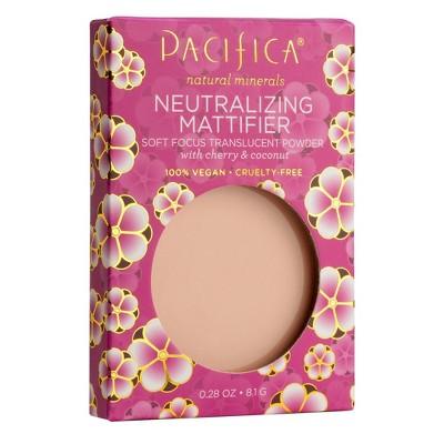 Pacifica Cherry Pressed Powder Neutralizing Mattifier - 0.28oz