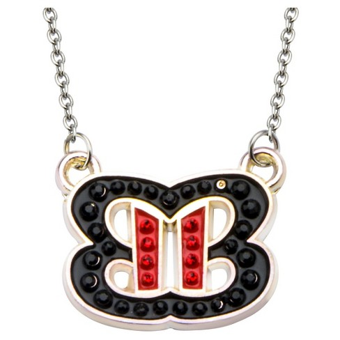 "Women's WWE™ Bella Twins Logo Bling Pendant with Chain (18"" + 2"" ext.) - image 1 of 2"