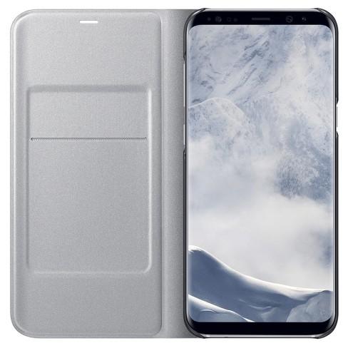size 40 19b9b 44dac Samsung® Galaxy S8+ LED Wallet Cover - Silver