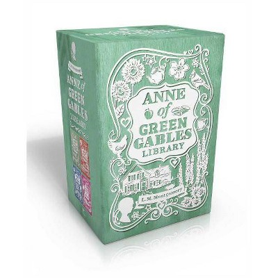 Anne of Green Gables Library - (Anne of Green Gables Novel) by  L M Montgomery (Paperback)