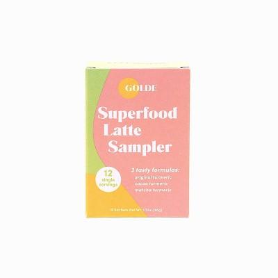 Golde Superfood Latte Sampler - 1.7oz