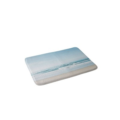 Bethany Young Photography California Surfing Memory Foam Bath Mat Blue - Deny Designs