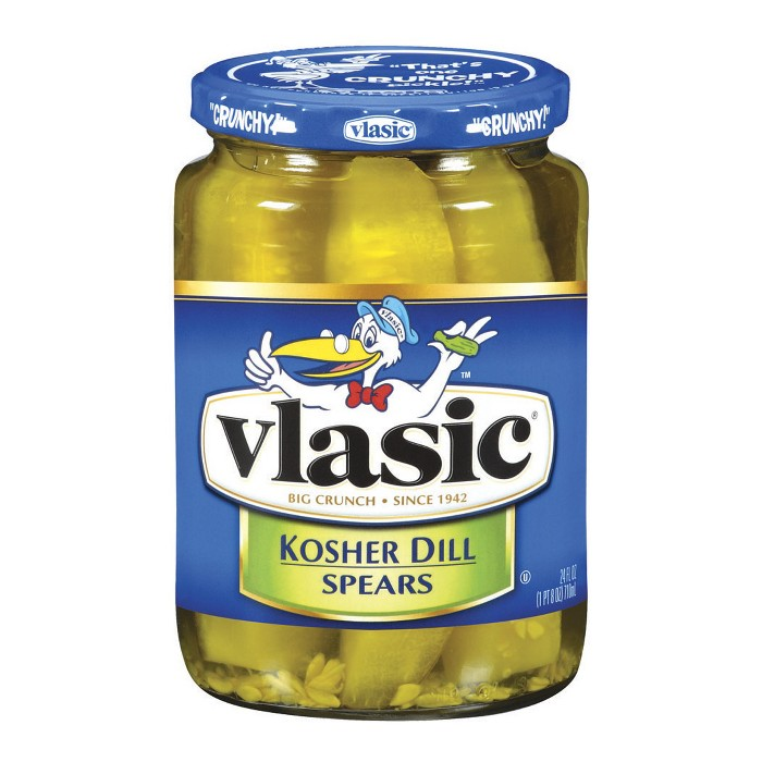 Vlasic® Kosher Dill Pickle Spears - 24oz - image 1 of 1