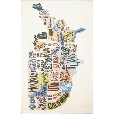 States Map Rug - Mohawk