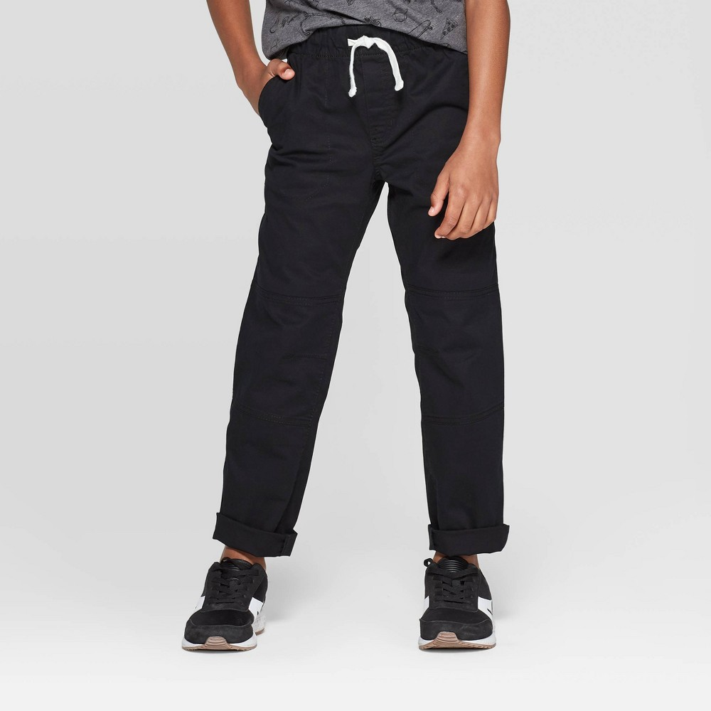 Best Price Boys Pull On Pants Cat Jack Black 12 Husky