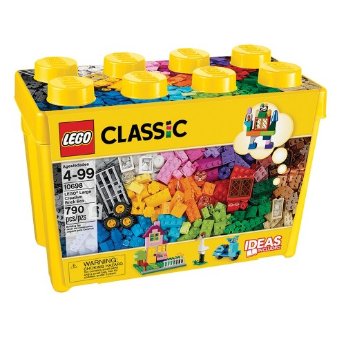 LEGO Classic Large Creative Brick Box 10698 Build Your Own Creative Toys, Kids Building Kit - image 1 of 4