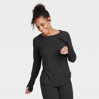 Women's Essential Crewneck Long Sleeve T-Shirt - All in Motion™