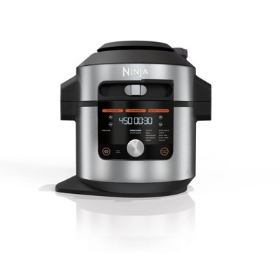 Ninja Foodi 14-in-1 8-qt XL Pressure Cooker Steam Fryer with SmartLid - OL601 - Silver