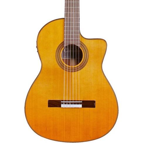 Cordoba Fusion 12 Natural Cedar Classical Electric Guitar - image 1 of 6