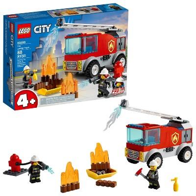 LEGO City Fire Ladder Truck Building Kit 60280