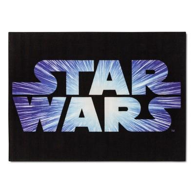 Star Wars® Black Accent Rug (3'4 x4'6 )