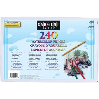 Sargent Art Watercolor Pencils, Assorted Color, set of 240