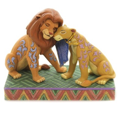 "Jim Shore 5.0"" Savannah Sweethearts Disney The Lion King  -  Decorative Figurines"