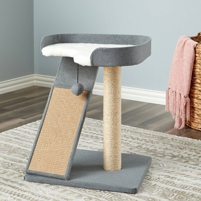 Two by Two Bonzai Cat Tower - Gray