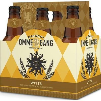Ommegang Witte Wheat Ale Beer - 6pk/12 fl oz Bottles