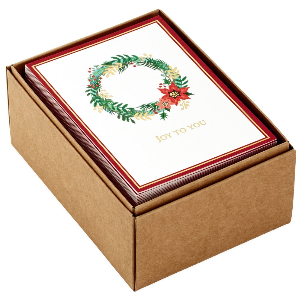 Image of 48ct Hallmark Holiday Icons Greeting Cards