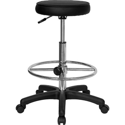 Backless Drafting Stool with Adjustable Foot Ring - Flash Furniture - image 1 of 1