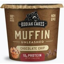 Kodiak Cakes Chocolate Chip Minute Muffin