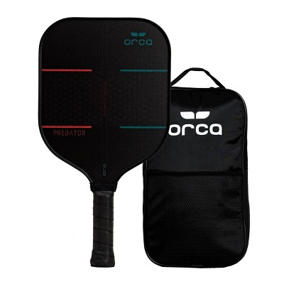 MD Sports Orca Predator Nomex Pickleball Paddle with Carry Bag - Black